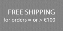 Free shipping for orders greater than or equal to 100 euros.
